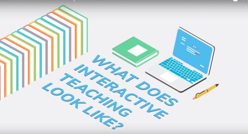 What does Interactive Teaching Look Like?